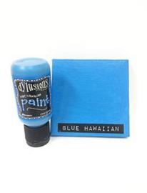 Blue Hawaiian - Dylusions Paint Flip Cap Bottle