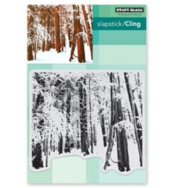 Snow Forest - Clingstamp