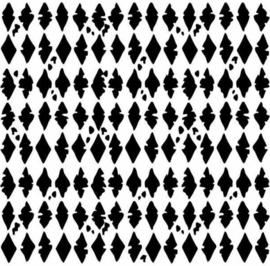 Rhombus Texture - Clingstamp