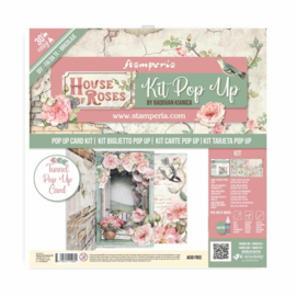 """Pop Up Kit House of Roses Tunnel - 12x12"""""""