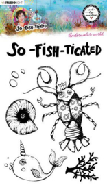 Stamp So-Fish-Ticated nr.10 - Clearstamp
