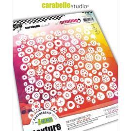 Art Printing Scribble Circles