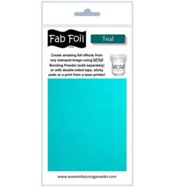 Wow! Fabulous Foil Teal