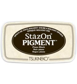 StazOn Pigment Piano Black