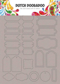 Art Labels & Tags - Chipboard A5