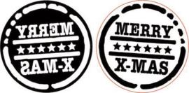 Merry X-mas  - Foamstamp
