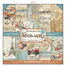 """Around The World - 12x12"""""""