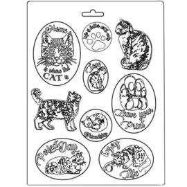 Orchids & Cats: Cats - Maxi Mold