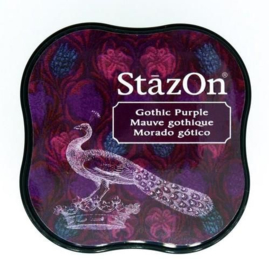 StazOn Inktkussen Midi Gothic Purple