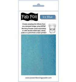Wow! Fabulous Foil Ice Blue