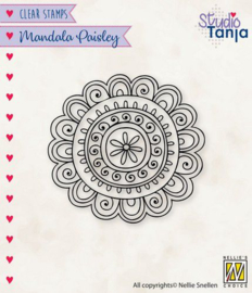 Mandala - Paisley Flower - Clearstamp