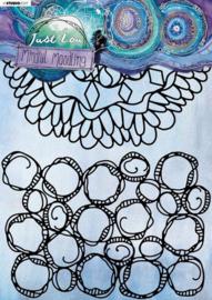 Mindful Moodling nr.20 - Mask A4