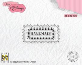 Handmade - mini Clearstamp