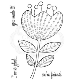 Bold Blooms – Katrina - Clearstamps