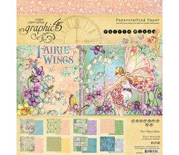 "Fairie Wings - 8x8"""