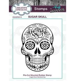 Sugar Skull - Clingstamp