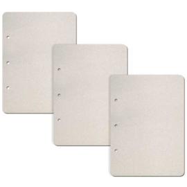 Set 3 Rectangular Vertical - Chipboard Pages