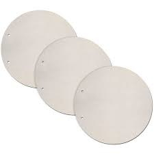 Set 3 Round Shaped - Chipboard Pages