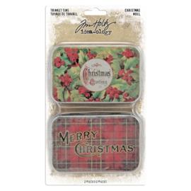 Trinket Tins Christmas - 2 pcs