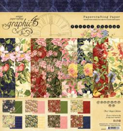 """Floral Shoppe - 8x8"""""""