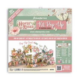 """Pop Up Kit House of Roses - 12x12"""""""