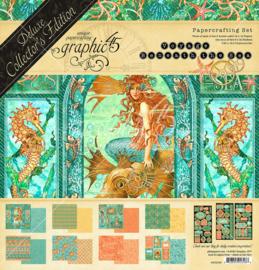 "Voyage Beneath the Sea - deluxe collector's edition - 12x12"""