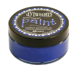 After Midnight - Dylusions Paint