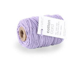 Koord Cotton Fijn Lila