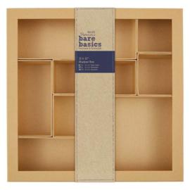 "Bare Basics Shadow Box - 12 x 12"""