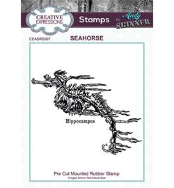 Seahorse - Clingstamp