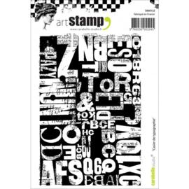 Casier de Typographie - Clingstamp A7
