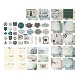 "Gentleman's Emporium collection - 12x12"""
