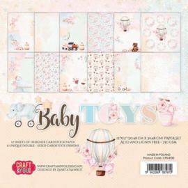 """Baby Toys - 12x12"""""""