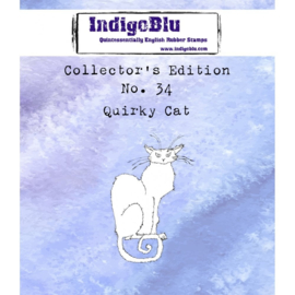 Quirky Cat Collectors Edition 34 - Clingstamp A7
