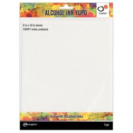 Alcohol Ink Yupo - White Cardstok 5 pcs