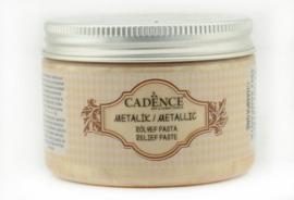 Champagne - Metallic Reliëf Pasta