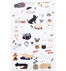 Cats - Mini Stickers