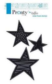 Stars Pretty & Cool - Foamstamp