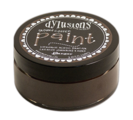 Ground Coffee - Dylusions Paint