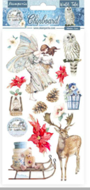 Winter Tales Christmas Elements - Chipboard