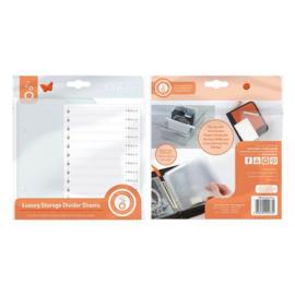 Luxury Storage - Verdelers - Sheets 10 pcs