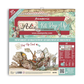 "Pop Up Kit Alice Tea Party - 12x12"""
