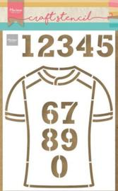 Team Shirt - Mask Stencil