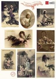 Vintage Christmas - Knipvel