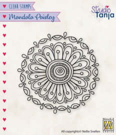 Mandala - Paisley Flower - 2 - Clearstamp