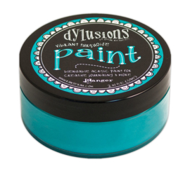 Vibrant Turquoise - Dylusions Paint