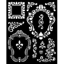 Sleeping Beauty Textures - Thick Stencil (0,25 mm)