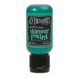 Polished Jade - Dylusions Shimmer Paint Flip Cap Bottle