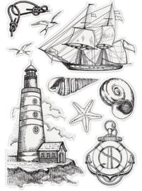 Nautical - Nautical Elements - Clearstamp A6