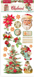 Classic Christmas - Chipboard